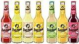 7 Flaschen a 0,33l Proviant Mix 7 Sorten Orginal Rhabarber Kirsch maracuja orange Zitrone Ingwer Apfel inc. 0.56€ MEHRWEG Pfand