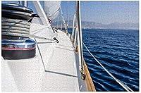 新しいJSCTWCL帆船サーフィン海パズル500ピース木製大人ジグソーパズルカラー抽象絵画パズル子供のための教育玩具ギフト