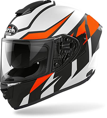 CASCO AIROH ST.501 FROST ORANGE MATT L