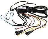DRL - Relé de luz antiniebla para coche, control de relé LED de circulación diurna, interruptor de encendido/apagado automático, arneses de cableado CC 12 V