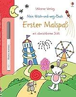 Mein Wisch-und-weg-Buch: Erster Malspass: mit abwischbarem Stift. Abwischbarer Stift ist nicht von allen Materialien entfernbar.