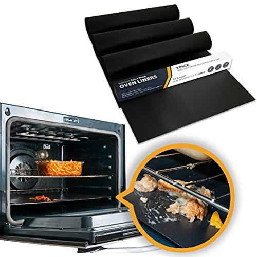 Oven Liner by Linda's Essentials (3 Pack) - Large Premium...