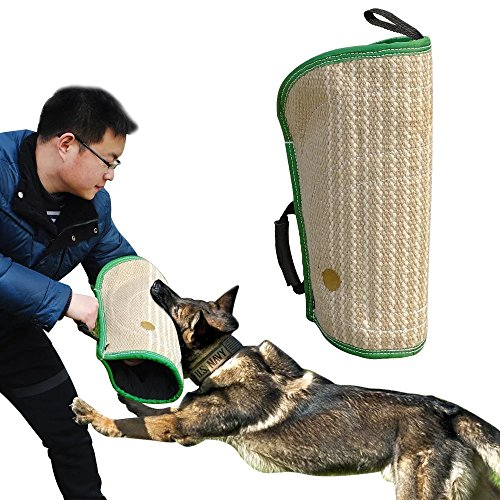 Didog Dog Bite Sleeves Tugs for Young Dogs Work Dog Puppy Training Playing,Fit Pit Bull German Shepherd Mastiff,Professional Intermediate for Both Left and Right Hand