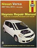 Haynes 72080 Nissan Versa, 07-'14 Technical Repair Manual