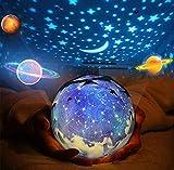 Rotante Stella Proiettore di luce, Bambino Luce notturna, 5 Stili Decorativo Luce d'atmosf...