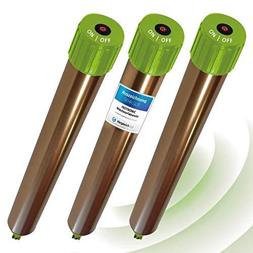 ISOTRONIC Maulwurfabwehr Vibrasonic mit ON/Off Schalter NEU mit Vibrationsmotor batteriebetrieben Wühlmausfrei Wühlmausschreck Wühlmausvertreiber Wühltierfrei Maulwurfschreck Schlangenabwehr (3)