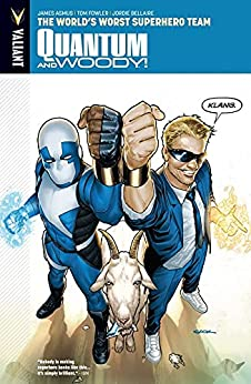 Quantum and Woody Vol. 1: The World's Worst Superhero Team - Introduction (Quantum and Woody (2013- )) by [James Asmus, Tom Fowler, Jordie Bellaire]