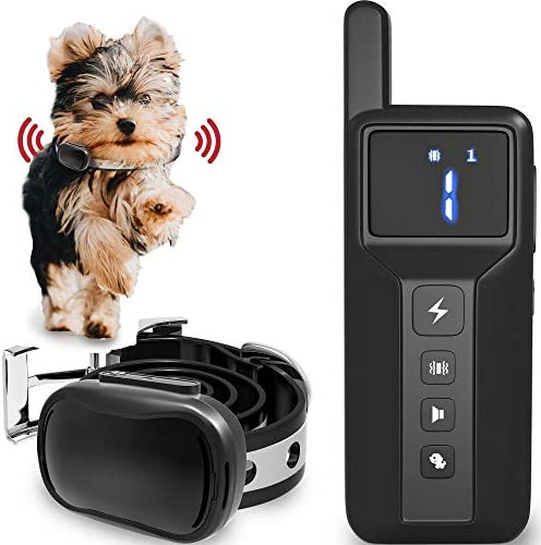 Enrivik Small Size Dog Training Collar with Remote Perfect for Small Dogs 5 15lbs Waterproof product image