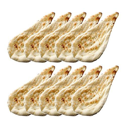 神戸アールティー プレーンナン 10枚(冷凍) レストラン直送 炭火タンドール焼き