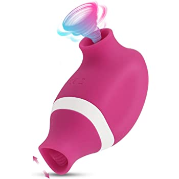 Adorime バイブ 吸引 舌型 クリトリス 7種吸引+舌刺激パターン 小型ローター 乳首バイブ クリ責めバイブレーター 潮吹き電マ Gスポット刺激 強力 USB充電式 防水静音 大人のおもちゃ アダルトグッズ女性用 人気ランキング