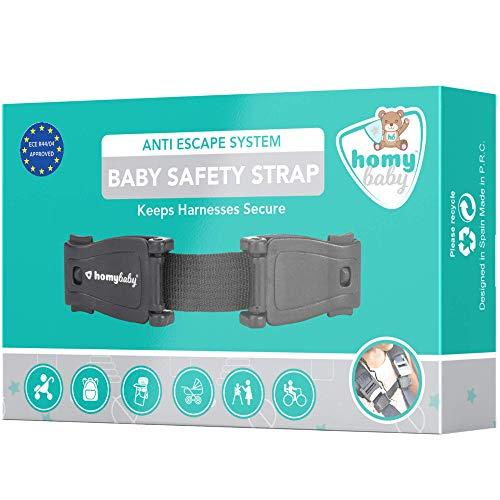 HOMYBABY Babyschutz | Gurtverlängerung Kindersitz | Abschnallschutz Kinder | Verhindert dass das Kind den Gurt aufmacht | Protektor für den Sicherheitsgurt des Autositzes | Gurtschloss Verlängerungen