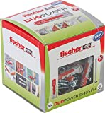 fischer Duopower 8X40 S Ph Diy/ (Caja Brico de 50 Uds), 535464, gris, Set Piezas