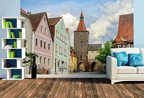 Premium Foto-Tapete Nürnberger Tor (versch. Größen) (Size L | 372 x 248 cm) Design-Tapete, Wand-Tapete, Wand-Dekoration, Photo-Tapete, Markenqualität von ERFURT