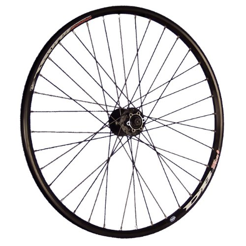 Taylor-Wheels 26 Pollici Bici Ruota Anteriore Taurus Disco FHM475 Nero