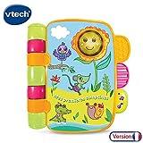 VTech - P'tit Livre Enchanté - Mes Premières Comptines, Livre Enfant Parlant et Musical dès 6 mois