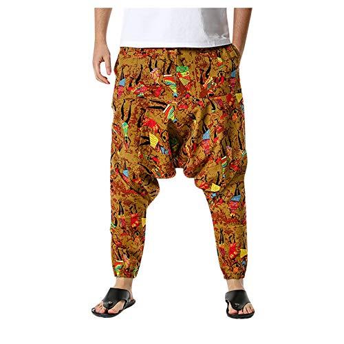Desconocido Hombres Mujeres algodón Yoga Harem Pantalones Yoga, deportes, fitness