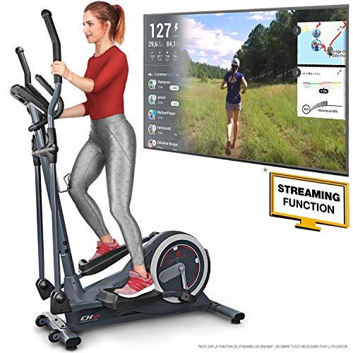 Sportstech Vélo elliptique CX625 ergomètre Compatible avec Application Smartphone, Poids...