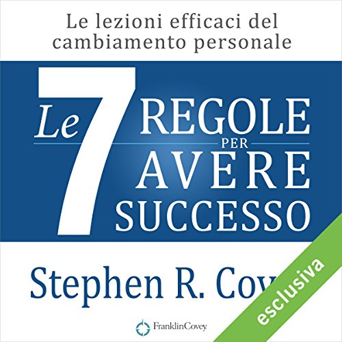 Le 7 regole per avere successo audiobook cover art
