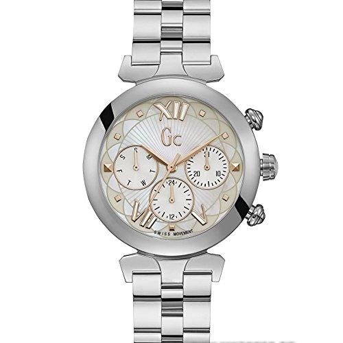 GC Gc LadyBelle Damen-Armbanduhr 36mm Armband Edelstahl Batterie Y28001L1