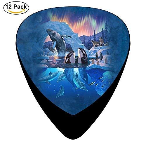 Paraplu Dieren Gitaar Picks 12-Pack Set Paddles Plectrums Voor Gitarist Spelers Eén maat Kleur19