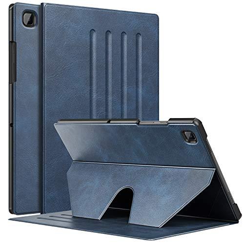 MoKo Custodia Compatibile con Samsung Galaxy Tab A7 10.4' 2020 con Angolazione Supporto 6 Livelli, Supporto Magnetico, Cover per Samsung Galaxy Tab A7 10.4 inch Model (SM-T500/505/507), Indaco