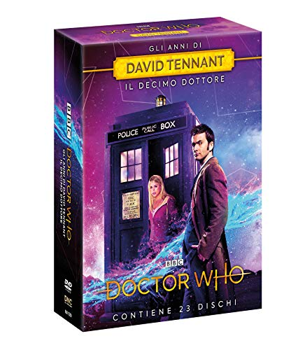 Cofanetto Doctor Who: David Tennant (Stag. 2-3-4 + The Specials) (23 Dvd) (23 DVD)