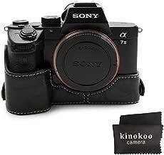kinokoo Camera Case Compatible for SONY Alpha A9 a7R3 III black-b
