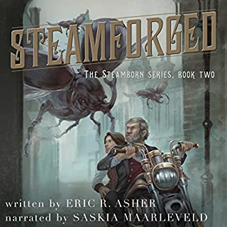 Steamforged audiobook cover art
