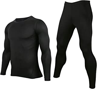 AXBXCX Motorcycle Underwear Quick-Drying Men's Gym Compression Set
