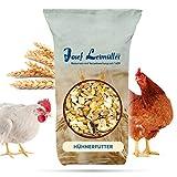 Leimüller Hühnerfutter 6-Korn Geflügelfutter 25 kg | Körnerfutter für Hühner & Legehennen | Energiereiches und Schmackhaftes Streufutter | Ambrosia Kontrolliert, Staubfrei & ohne Zusatzstoffe