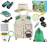 Genround Juguetes Exploración para Niños, niños de 3-10 años de Aventura al Aire Libre Juguetes Educativos Regalo de Cumpleaños para Niños