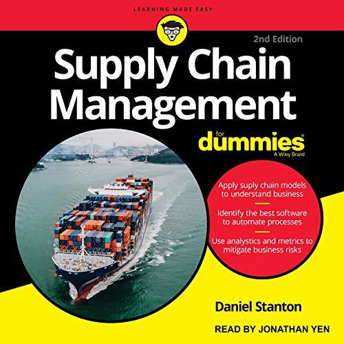 『Supply Chain Management for Dummies』のカバーアート