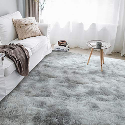 Soft Fluffy Area Rugs for Living Room,Plush Shaggy Nursery Rug Furry Throw Carpets for Kids Bedroom Fuzzy Rugs Indoor Home Decorate Mat…