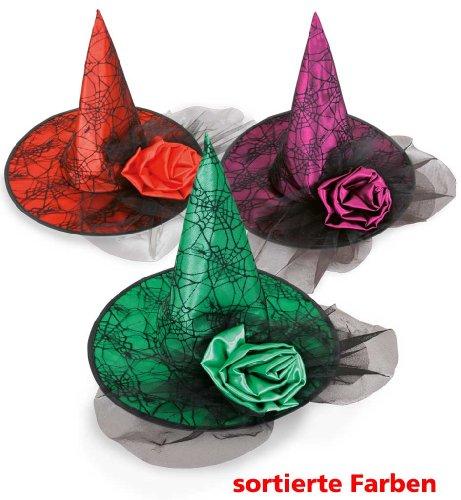 Carnaval chapeau chapeau de sorcière sorcière 38353 différents neuf/emballage d'origine
