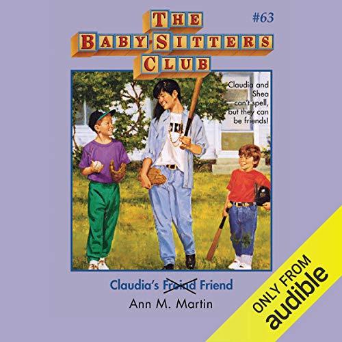 Claudia's Friend audiobook cover art