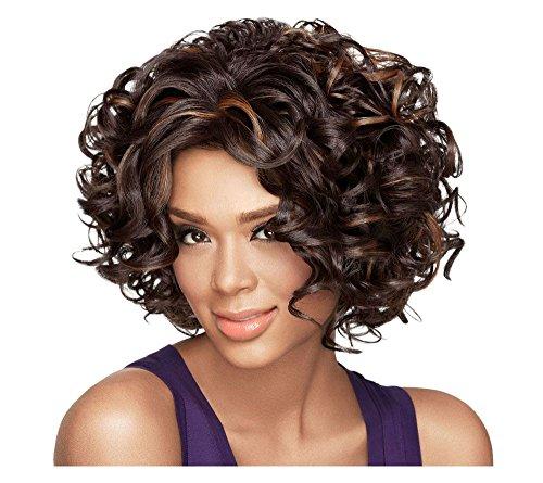 Lux Hair by Sherri Shepherd Soft Curls Wig, Auburn Blonde, 0.8 Pound