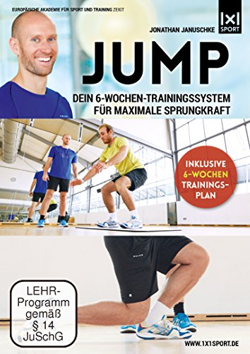 Jump | Dein 6-Wochen-Trainingssystem für maximale Sprungkraft