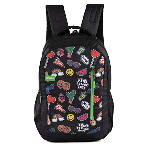 American Tourister Tango Nxt 03 Multi Black Casual Backpack