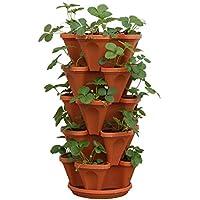 Mr. Stacky 5-Tier Strawberry Planter Pot