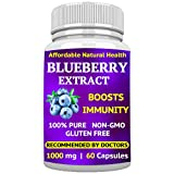Wild Blueberry Extract Supplement - Made from Organic...