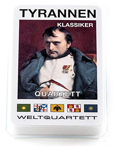 familie von quast - Quartett Spiel Tyrannen Klassiker - das ultimative Kartenspiel mit 32 Blatt