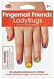 NPW-USA Ladybugs Fingernail Friends Nail...