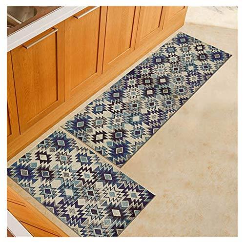 SHUWB Teppichpolster Bodenschutzmatte, modernes Badezimmer-Teppiche Anti-Rutsch-Küchenmatten-Eingangstür-Matte Esszimmer-Tisch-Boden-Teppiche Bürostuhl Fußkissen Dauerhaft