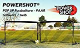 POWERSHOT Paire de Mini But Pop UP Football (1,2 x 0,9 m)