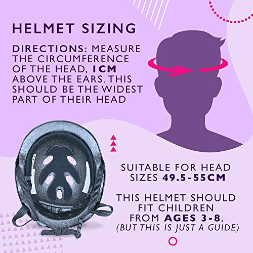 La Sports Junior Kids/Childs/Childrens Green Urban Skate Helmet Ideal For Skateboard, BMX and Stunt Scooter Age Guide 3-8 years
