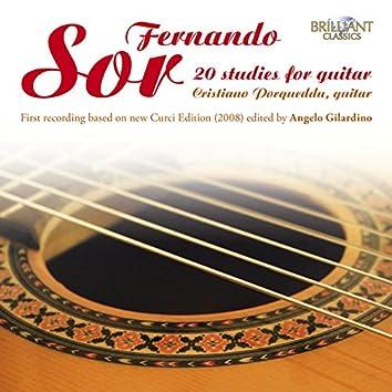 Sor: 20 Studies for Guitar