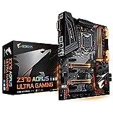 GIGABYTE Z370 AORUS Ultra Gaming (Intel LGA1151/ Z370/ ATX/ 2xM.2/ Front USB 3.1/ RGB Fusion/ Fan Stop / SLI / Motherboard) (Renewed)