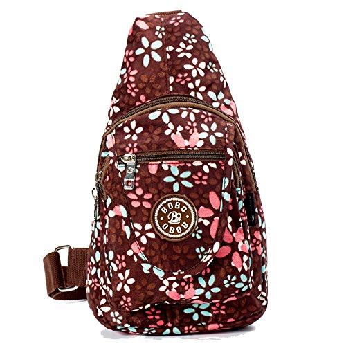 Travel Crossbody Sling Bags For Women Single Waterproof Sling Shoulder Backpack...