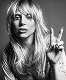 C-HO3C63 Lady Gaga 35cm x 43cm,14inch x 17inch Silk Print