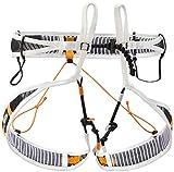 PETZL Unisex_Adult Fliegen Climbing Harness, Black/Orange, L